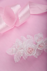 Wedding pink background