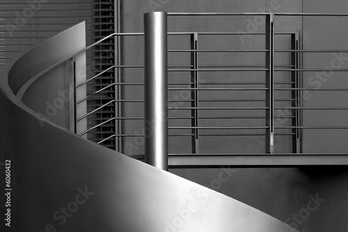 Tuinposter Trappen Banister