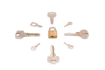 keys around key-lock