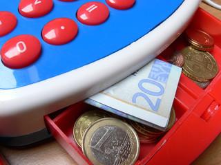 Geld in der Kasse, Euro