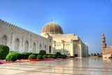 Sultanate of Oman - Palace in Muscat City poster