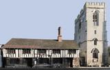church of St John the Baptist High Street Henley in Arden  poster
