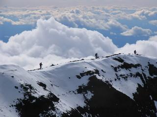 recorriendo la cumbre