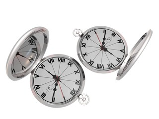 two mirror watchs