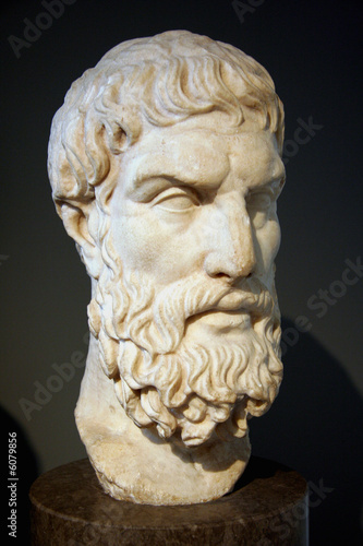 Greek philosopher Epicurus