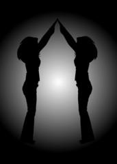 Femmes qui dansent