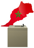 Election marocaine poster