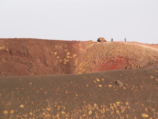 Mount Etna lower crater 1