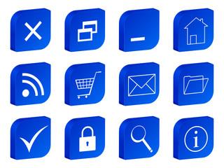 web 3d icon