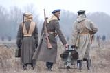 reenacting Civil War 1918 in Russia poster
