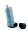 medicine spray for treating asthma isolated
