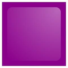 dark magenta square aqua button isolated