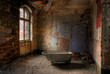 Leinwanddruck Bild - take a bath