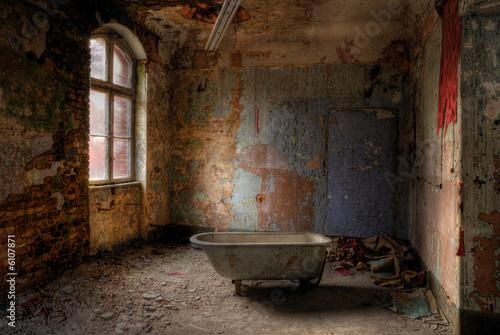 Canvas Rudnes take a bath