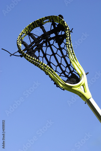 Lacrosse Stick in the Sky