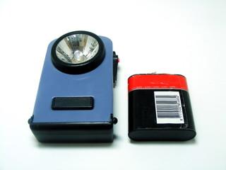 Battery & Lamp