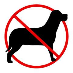 Hunde Verbot