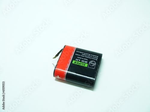 Leinwanddruck Bild Battery