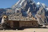 Sheppard's cottage - Cholatse and Tawoche Peak