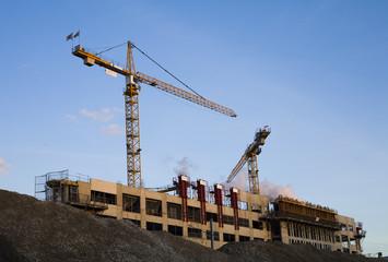 Construction de logements et bureaux à Asnières