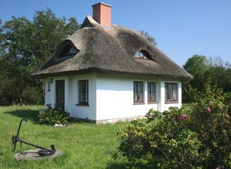 Reetdach- Haus
