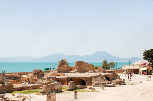 The UNESCO World Heritage, Ruins of the Carthage, Tunisia