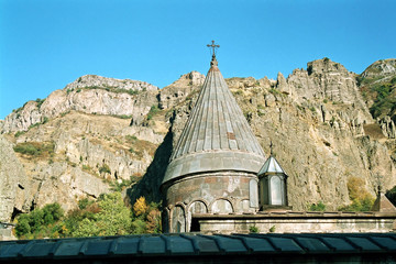 Gehard - monastery. Armenia.