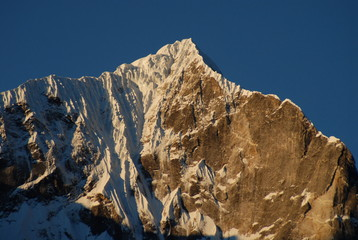 Himalaya Mountains - sunrise