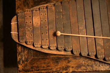 Ancient xylophone