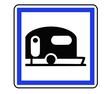 Panneau de Signalisation (Terrain de camping - CE4b)