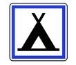 Panneau de Signalisation (Terrain de camping - CE4a)