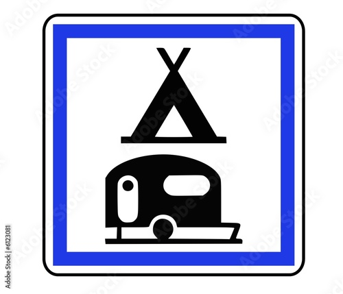 Panneau de Signalisation (Terrain de camping - CE4c)