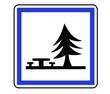 Panneau de Signalisation (Emplacement pique nique - CE7)