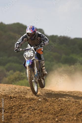 Motocross rider. - 6123237