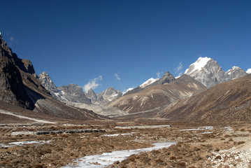 Nepal,Pheriche valley about 4400m