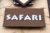 sign. safari poster