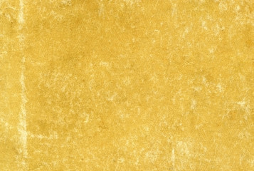 a photo of a texture - very old yellow paper