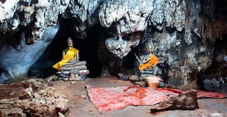 grotte de kanchanaburi, thailande