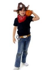 Pumpkin Cowgirl