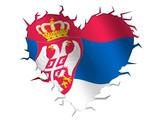 Cuore serbia poster
