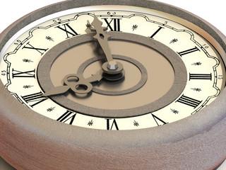 Clock. eight o'clock