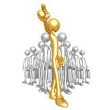 Fototapety Golden Team Leader