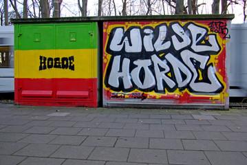 Wilde Horde Graffitie