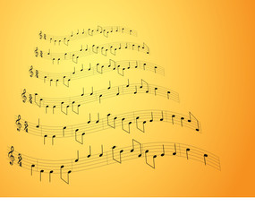 Music notes - 2