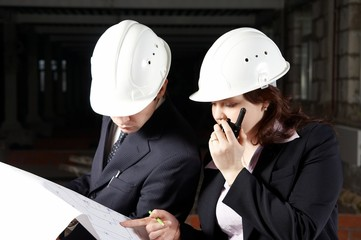 Construction Consulting radio conversation