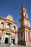 Franciscan church in Salta, northwest Argentina poster