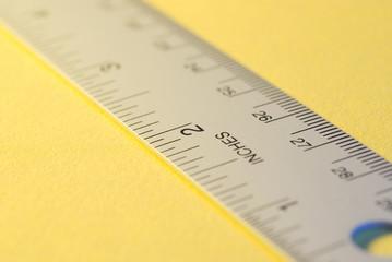 a metal ruler