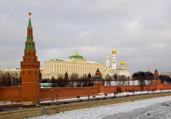 Moscow, near to the red area.
