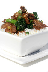 Chinese Food - Beef and Broccoli