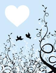 gorriones enamorados